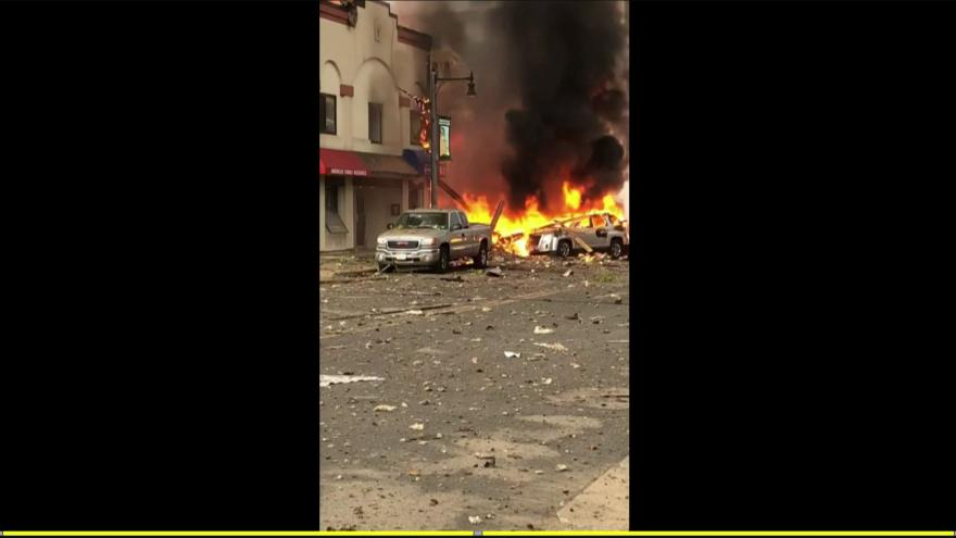 BREAKING: Gas EXPLOSION completely destroys buildings in Sun Prairie, Wisconsin, USA
