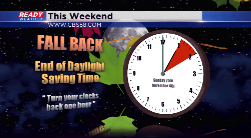 turn clocks back one hour this weekend sunsets before 5 pm start sunday