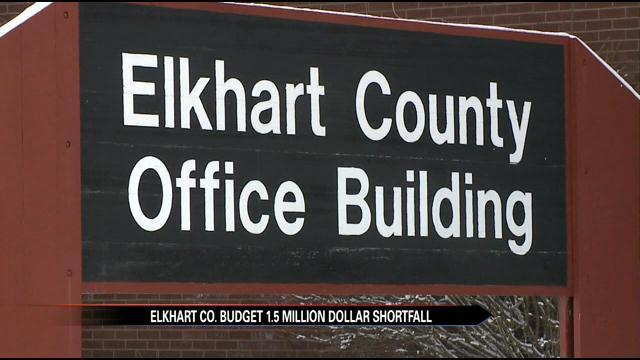 Elkhart County sees less money in budget