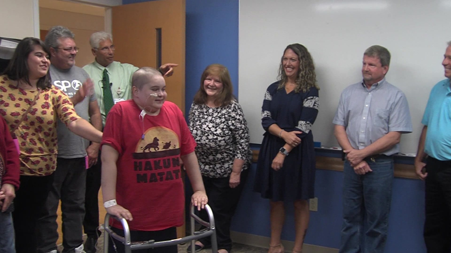 Children's Hospital patient meets donors who helped save his life