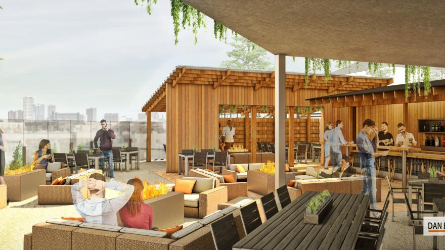 View MKE Set To Open Newly Constructed Patio Offering Panoramic Views Of  Milwaukee Skyline