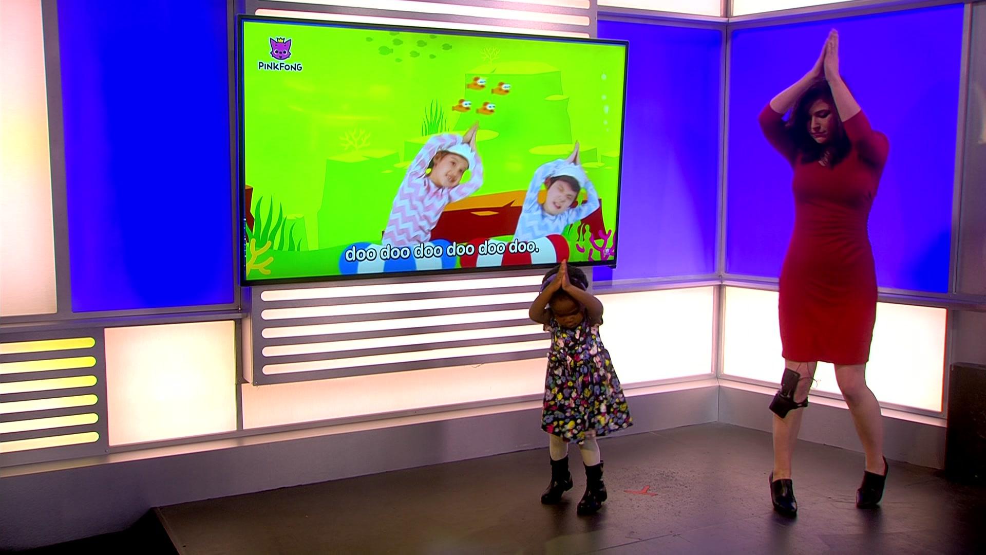 "Video of Milwaukee toddler asking Alexa to play ""Baby Shark"