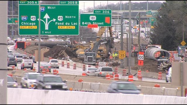 Long-term lane closure begins this week on Westbound I-94