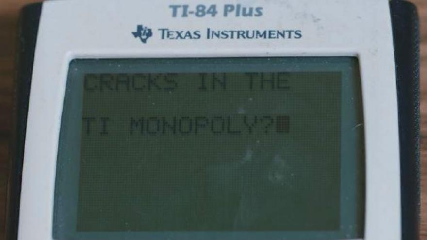 Digital calculators replacing TI-84 graphing calculator