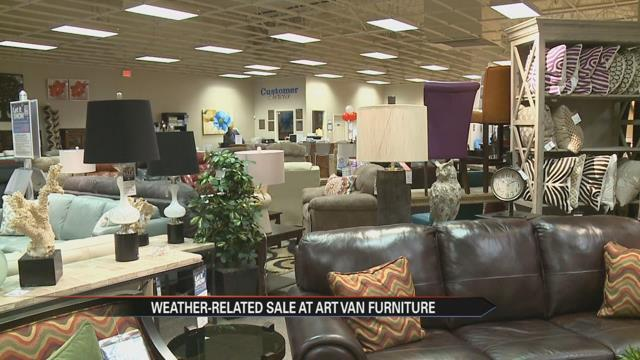 Art Van Furniture To Pay For Purchases Based On Game Day Snowfall