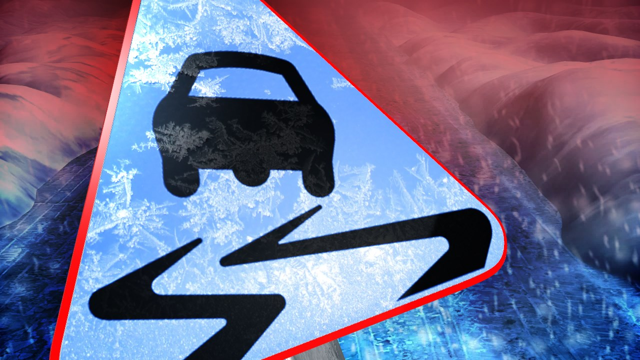 Multiple counties experiencing slick road conditions
