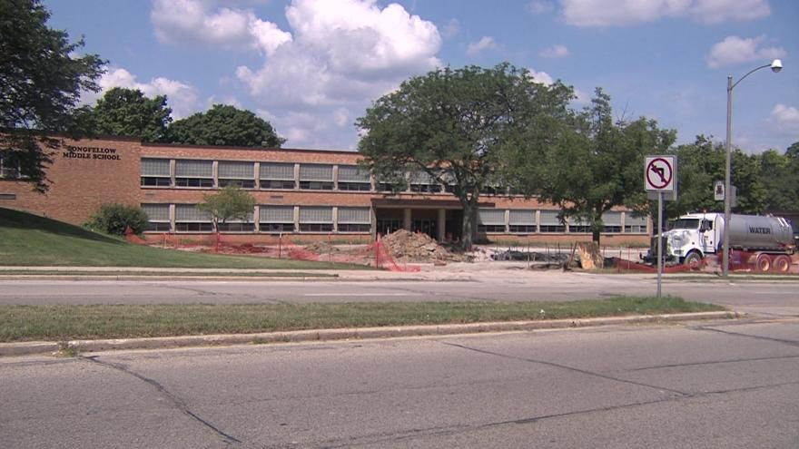 Gas Leak Forces Evacuation Of Middle School In Wauwatosa