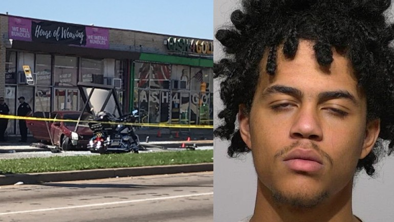 Charges filed: Milwaukee man lost control of vehicle, crashed into MCTS bus shelter