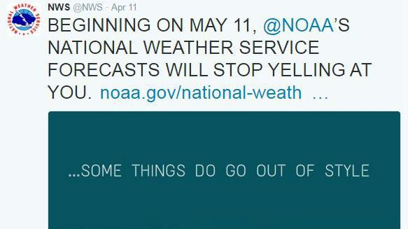 The National Weather Service Going