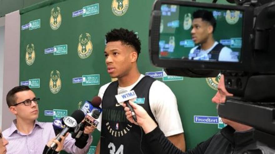 Giannis says Kidd helped him grow into dominant player