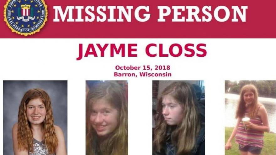 Sheriff: 400 tips in Jayme Closs case