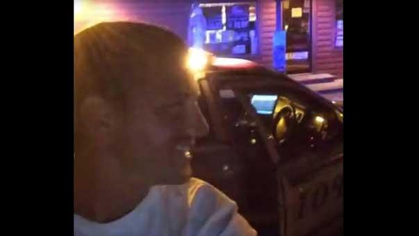 Man Allegedly Steals Squad Car, Posts Videos as Police Chase Him