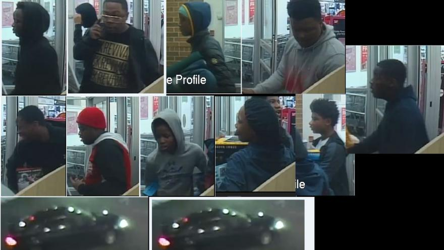 police looking for 11 suspects after snatch and grab theft at walgreens - Is Walgreens Open Christmas Eve