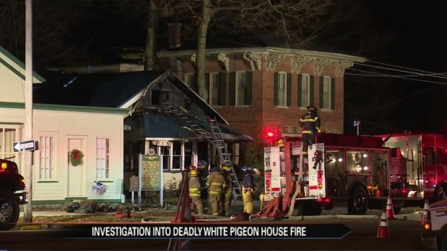 Coroner releases names of victims of White Pigeon fire