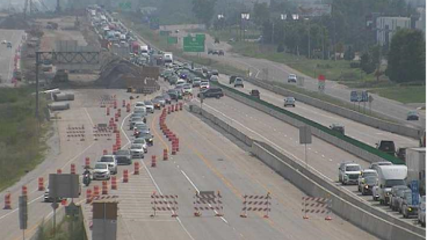 Update: I-94 north in Racine County reopens after crash