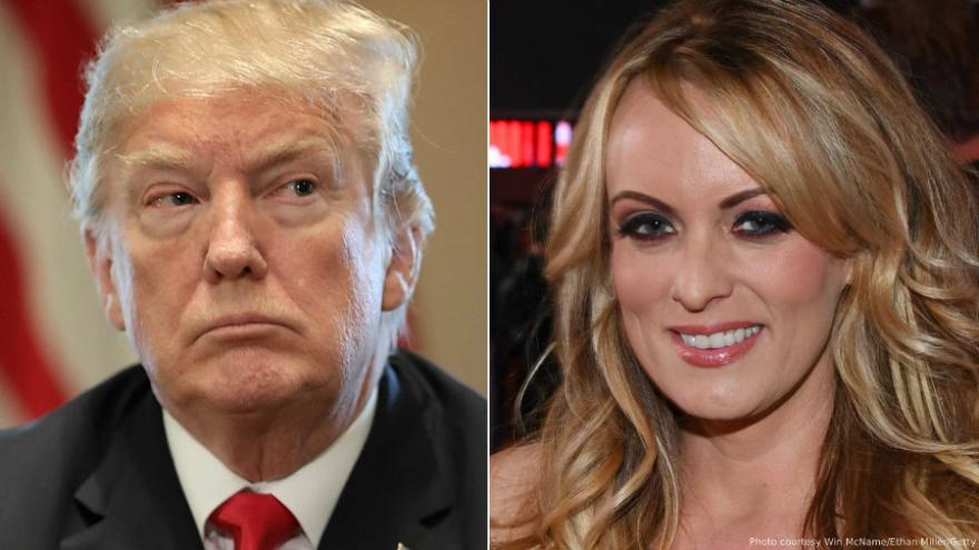 President Trump joins lawsuit demanding arbitration in Stormy Daniels case