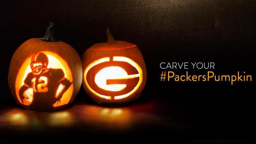 Green bay packers release pumpkin carving patterns