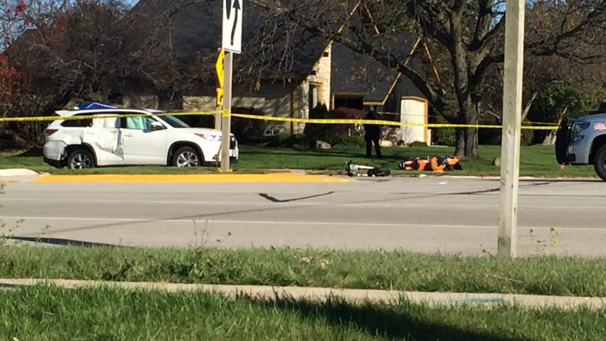 Motorcyclist dead after Sunday afternoon crash in Oak Creek