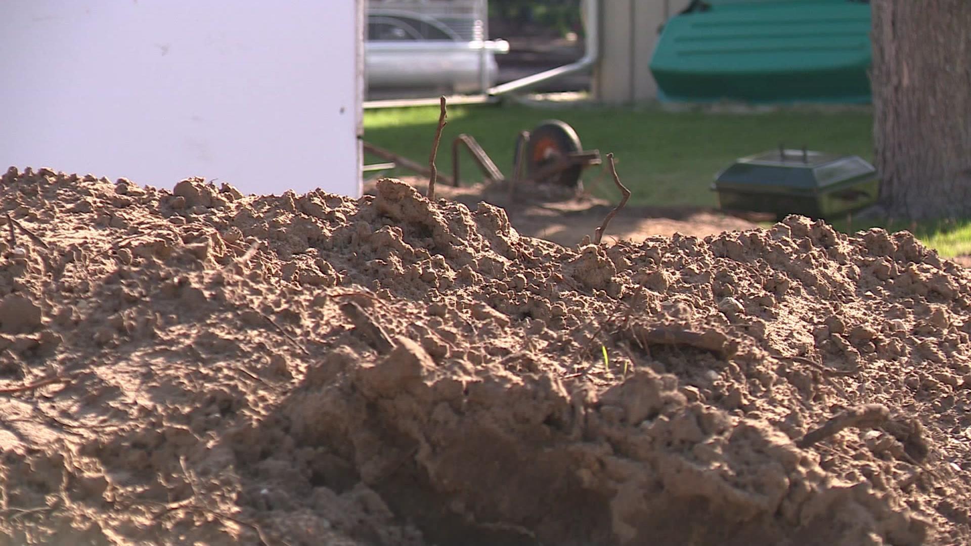 Columbia County woman finds human teeth in backyard