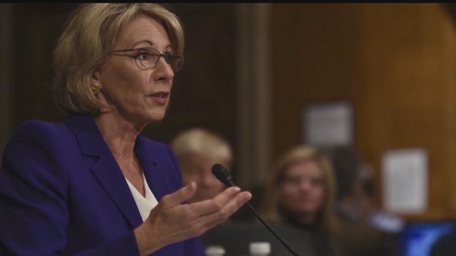 U.S. Secretary of Education Betsy DeVos to stop in Milwaukee Monday