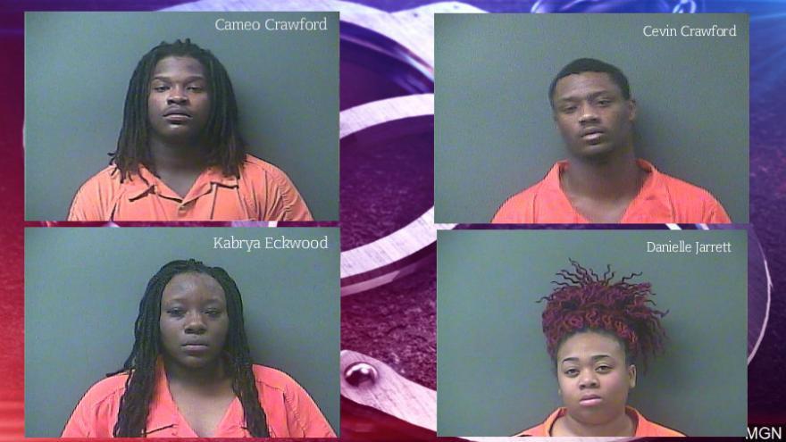 La Porte Drug Task Force arrests four individuals for related drug