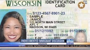 where is the drivers license number located wisconsin