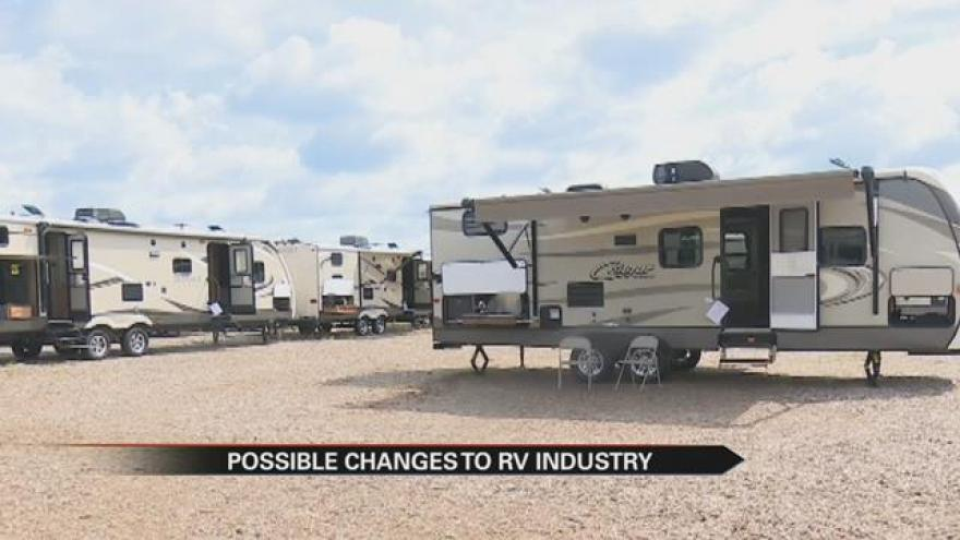 Proposed bill to exempt out-of-state RV sales tax heads to