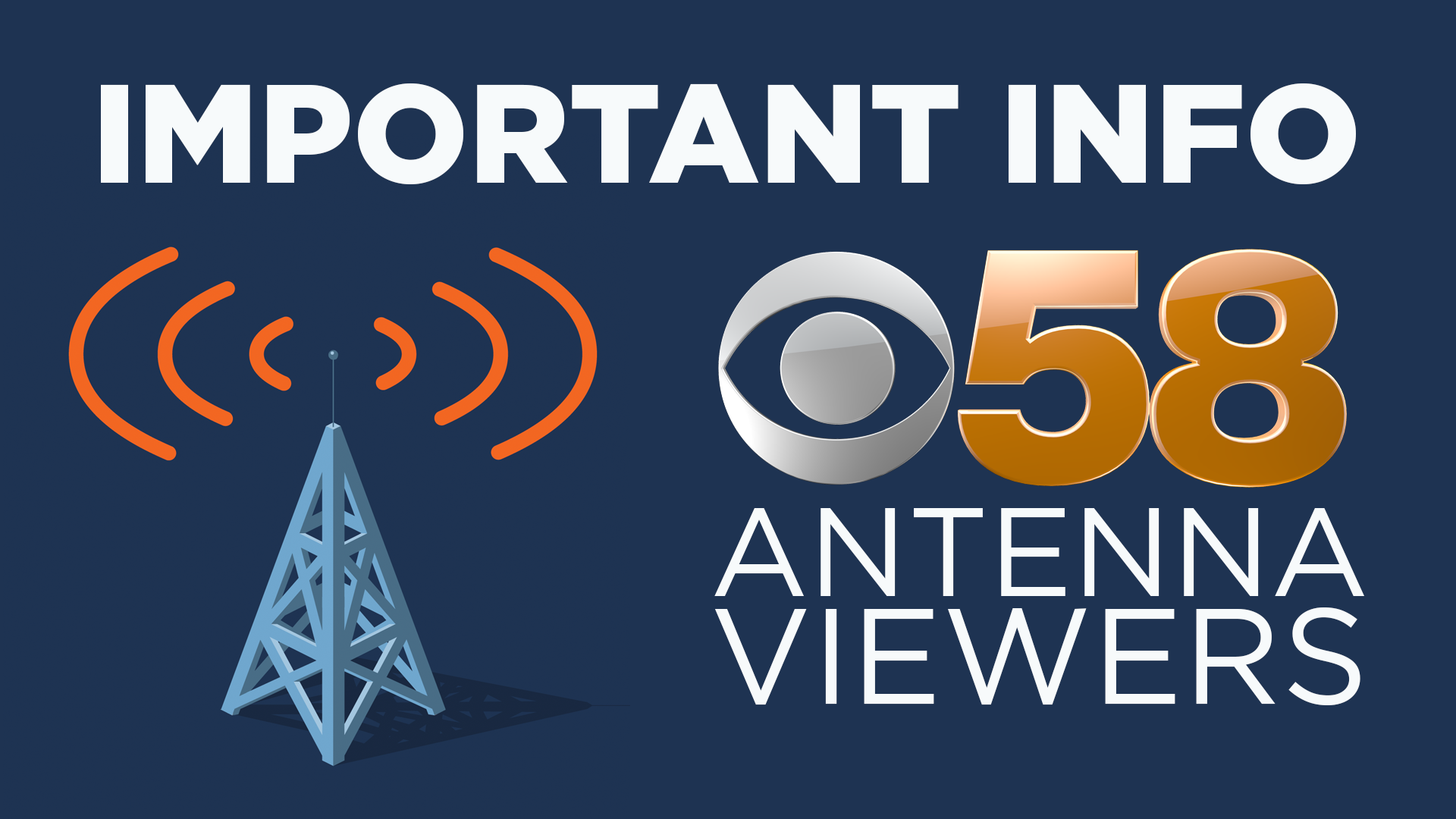 All stations on 58 stream transmitting at reduced power due to transmitter modifications
