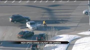 High-speed chase caught on camera