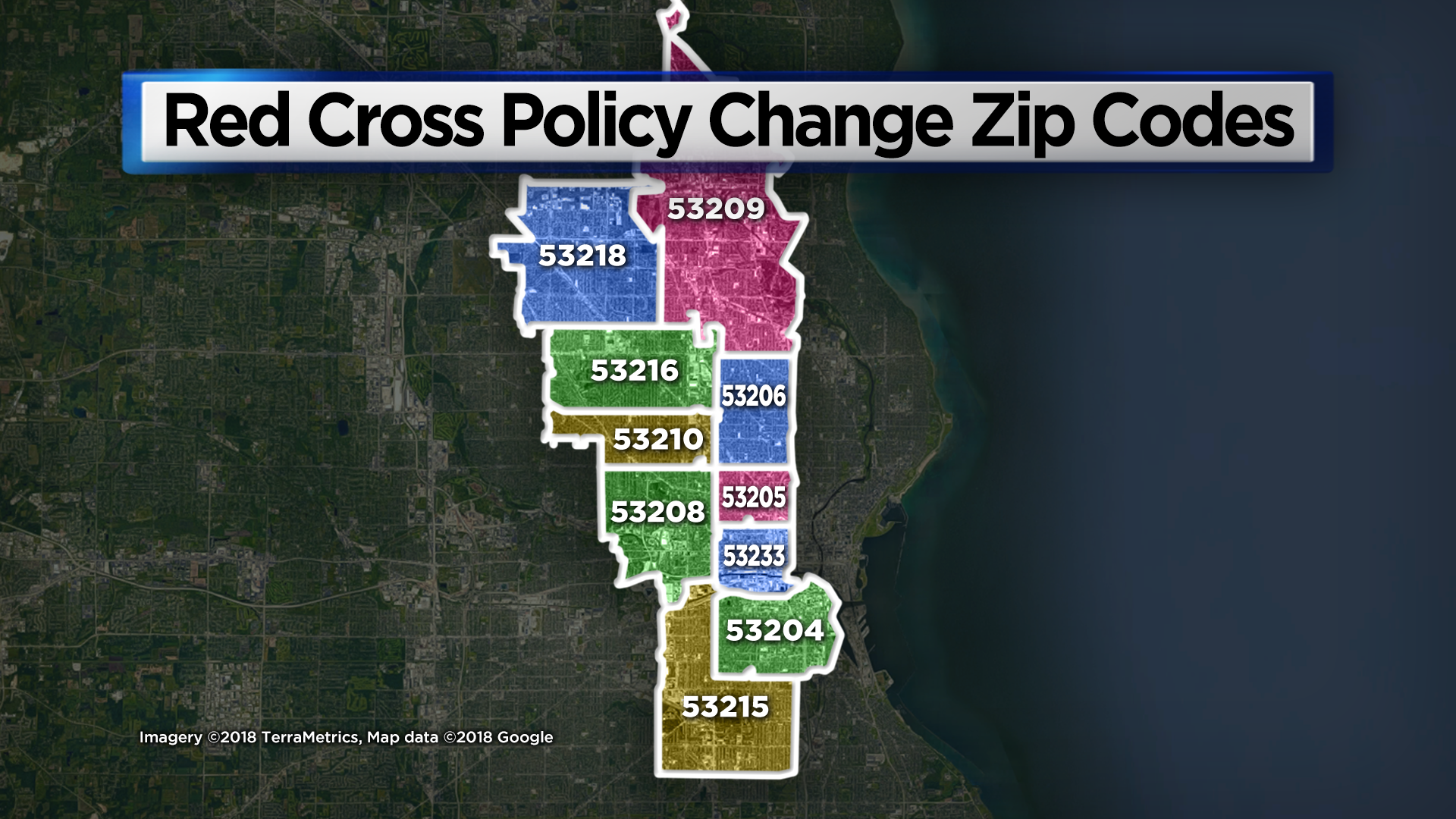 53209 Zip Code Map.American Red Cross Rescinds Policy Of Only Providing Volunteers