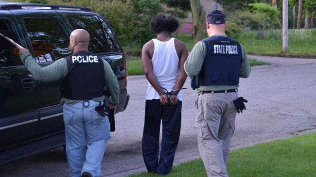 25 arrested in warrant sweep during Operation Flashback