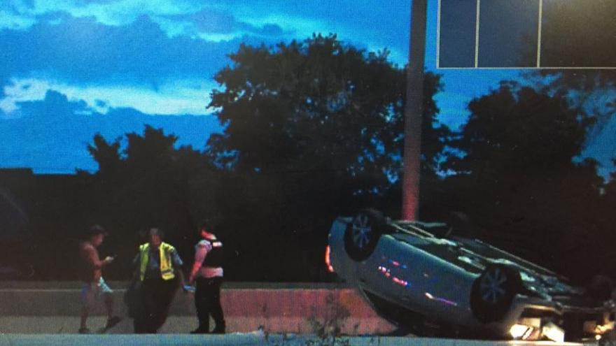 UPDATE: One person dead following rollover crash on