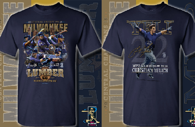15ca99eed17 Two new Brewers t-shirts released