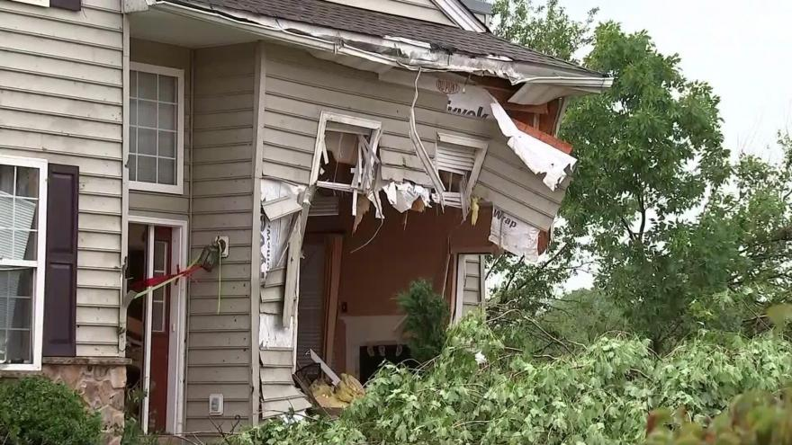 Tornado warnings issued in seven states on Wednesday