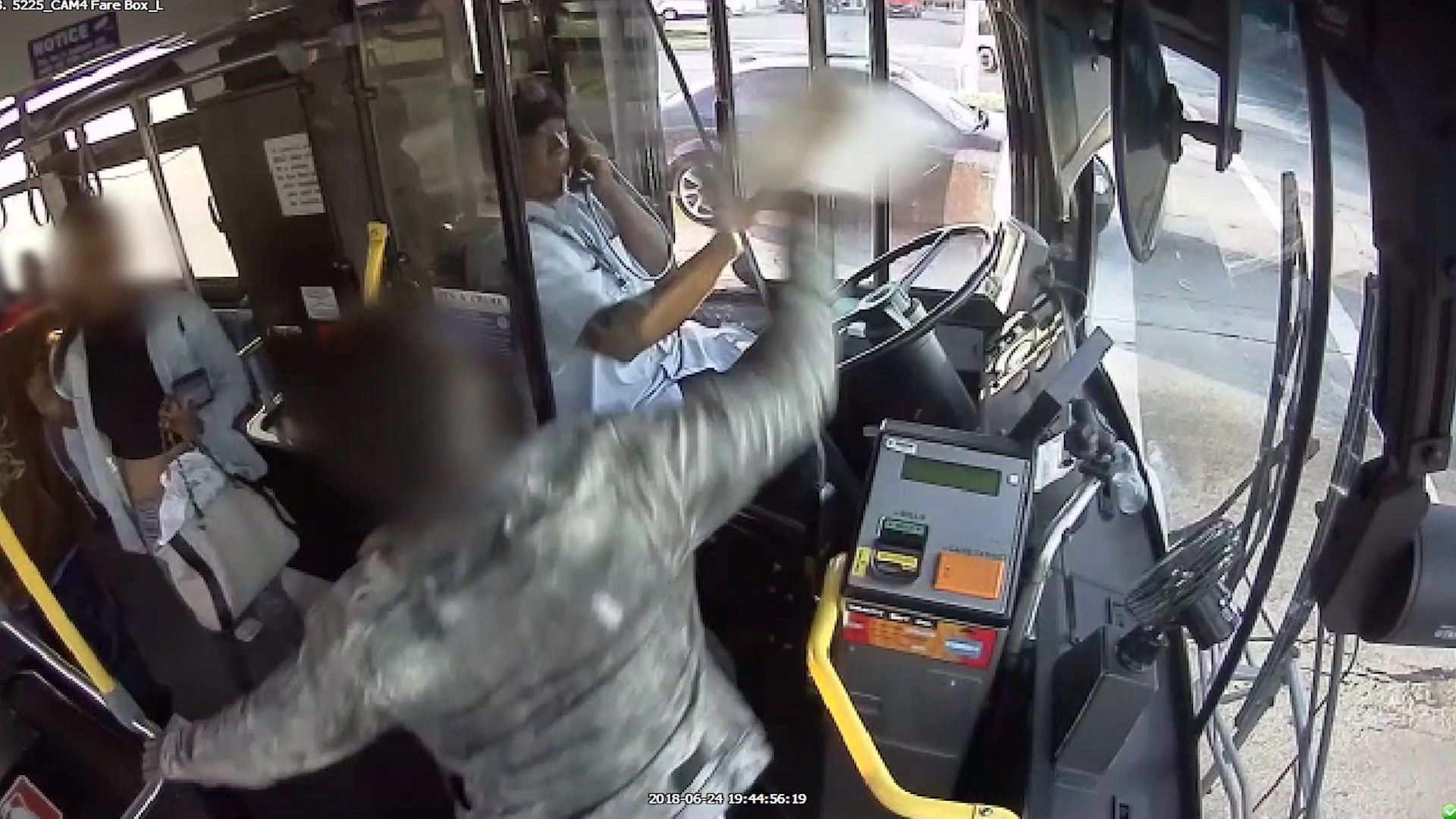 Surveillance video shows attacks on MCTS drivers, union wants action