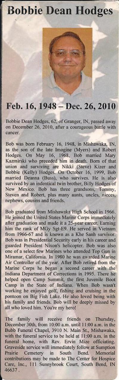 Bobby D Hodges