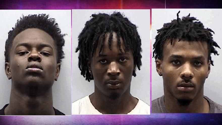 Three now charged after shoplifting from Hartford Walmart, leading