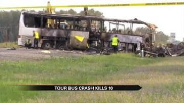 Witnesses: FedEx truck on fire before fatal accident