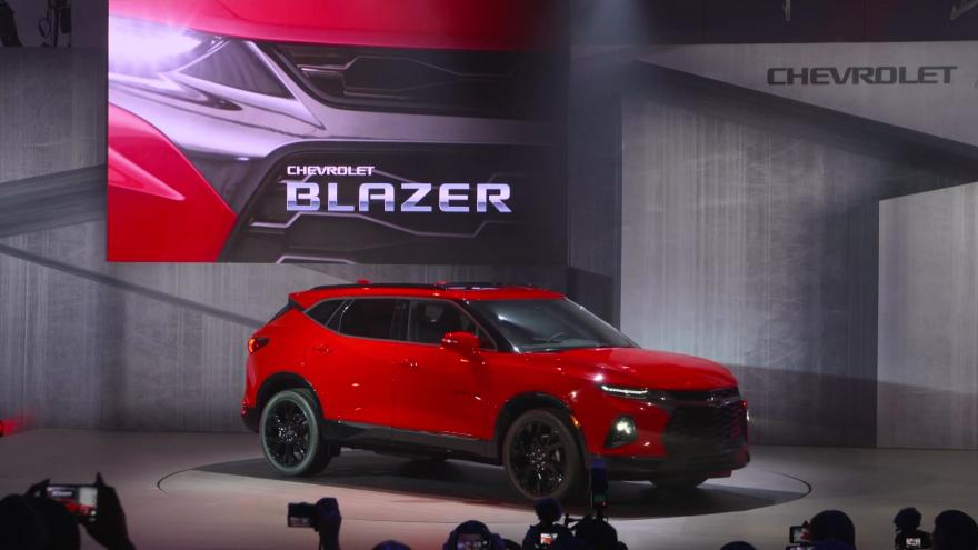 Gm Is Bringing Back The Chevy Blazer