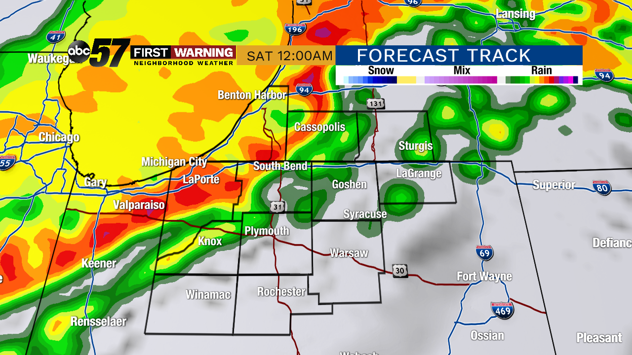Severe storms expected this evening