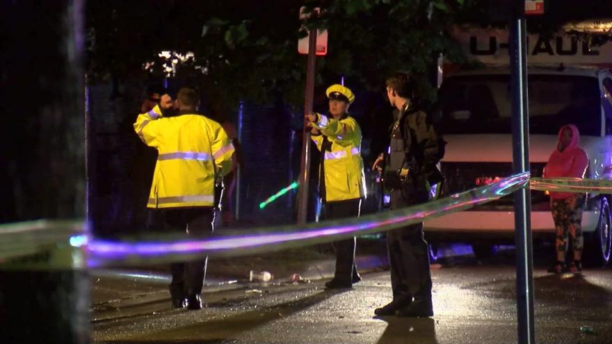 Three people hurt in shootings, one injured in crash at