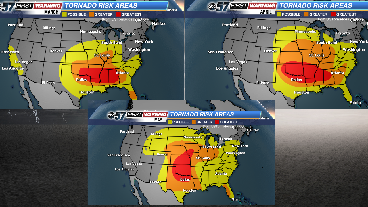 Quiet for now, but severe weather threat rises substantially by