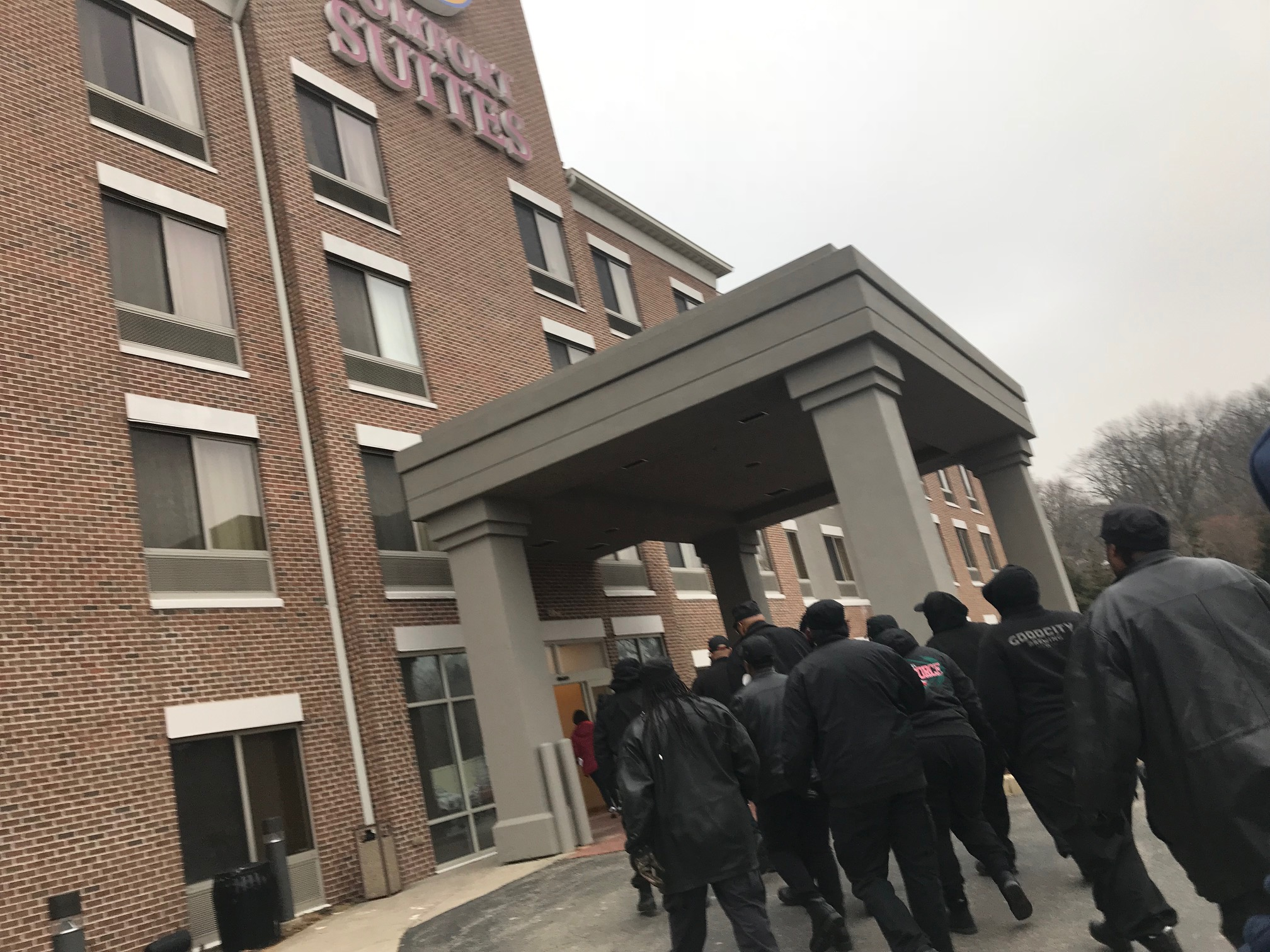 Original Black Panthers protest hotel policy, call it discriminatory