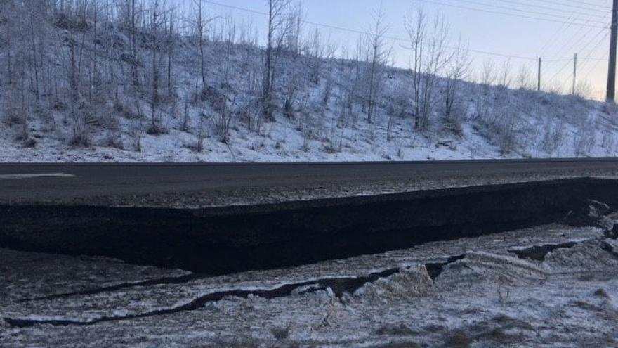 Photos and video show initial damage from 7.0 natural disaster  in Alaska