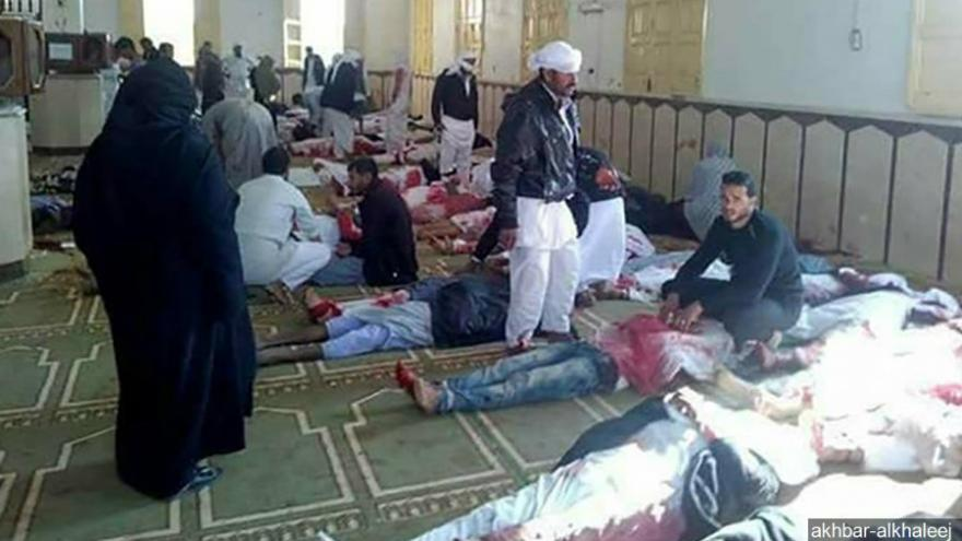Image result for Egypt mosque terror attack: Death toll soars to 305; 27 children among deceased, 128 injured