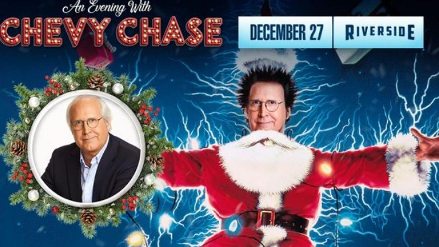 Chevy Chase Christmas Vacation.Chevy Chase Is Coming To Milwaukee For Christmas Vacation