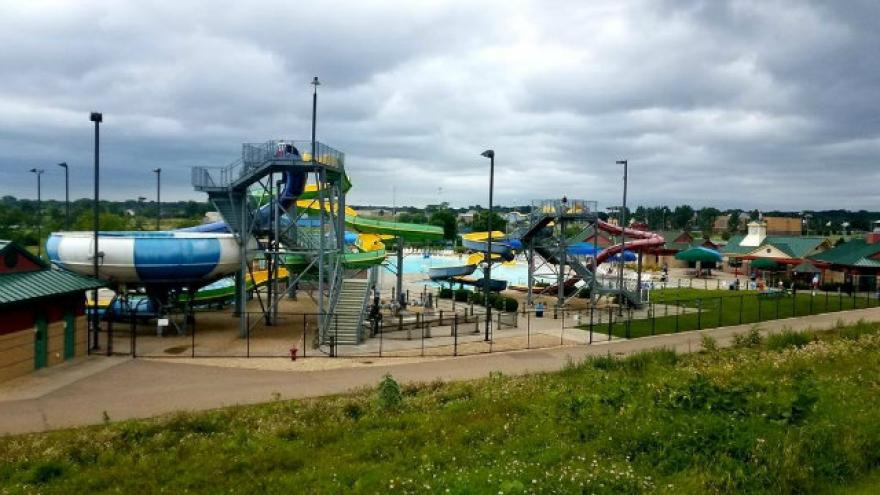 Man arrested after boy thrown off 31-foot waterslide in Minnesota