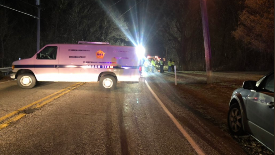 Man killed, woman injured in two-car crash on SR 23 in St