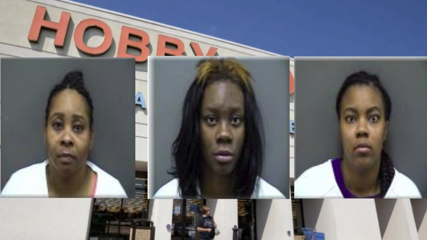 Milwaukee women accused of shoplifting at Racine Hobby Lobby