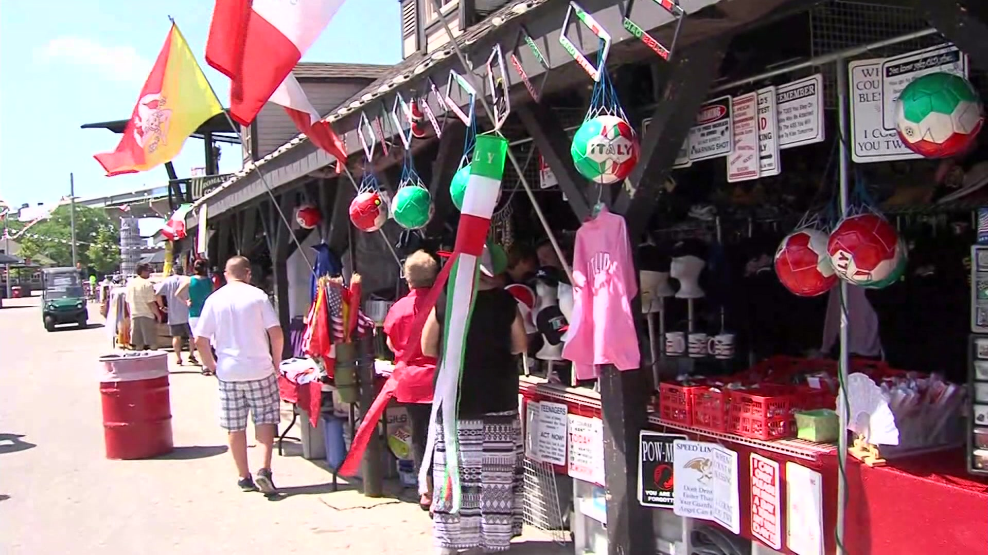 Festa Italiana changes water bottle policy due to heatwave